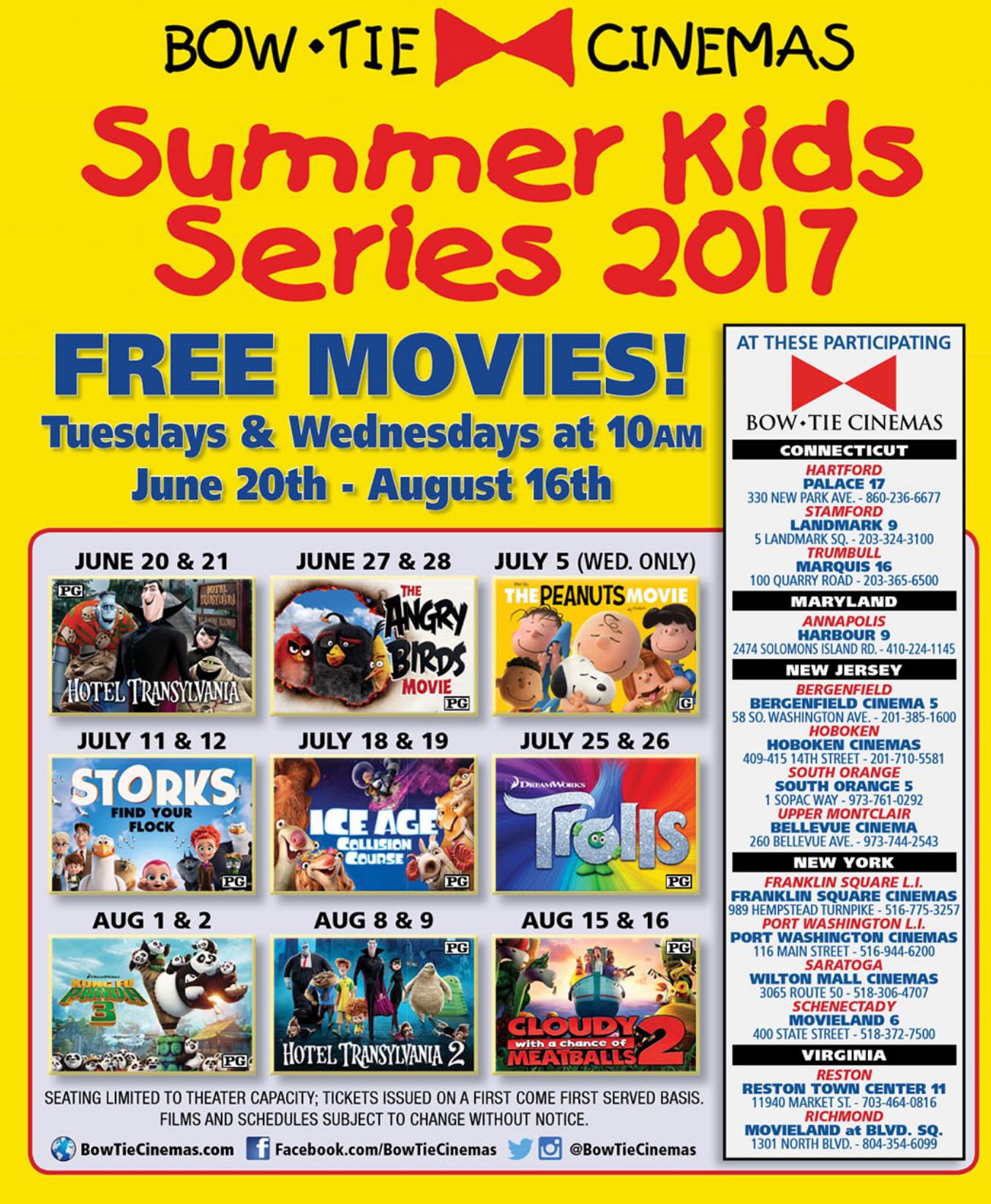 Free And 1 Movies For Kids All Summer In Rva Enjoying
