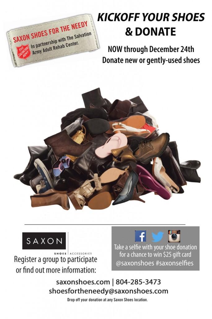 Kickoff Your Shoes \u0026 Donate - Enjoying