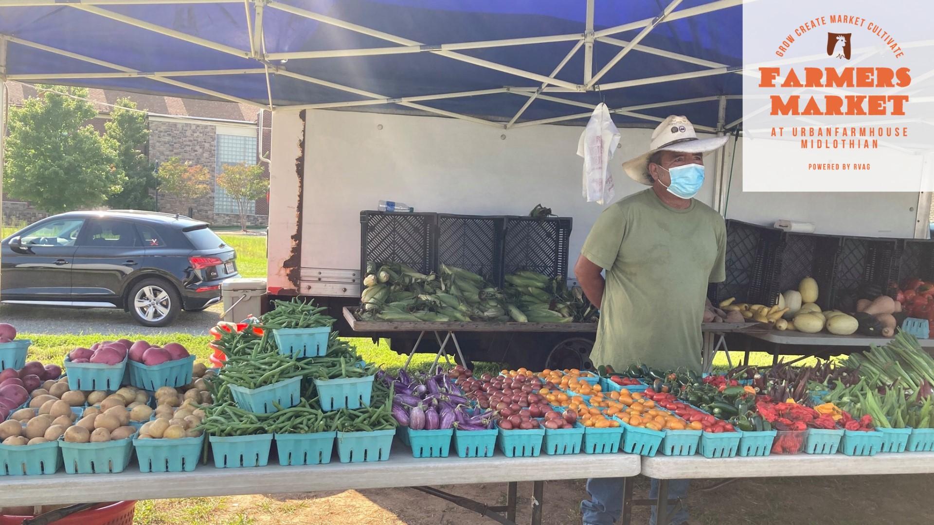 Farmers Market Urban Farmhouse Midlothian