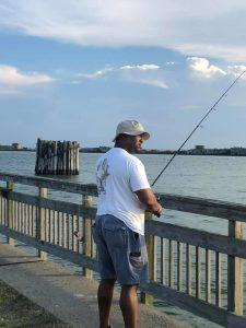 Fishing at Kiptopeke State Park