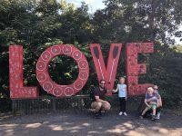 LOVE sign at Percivals Island