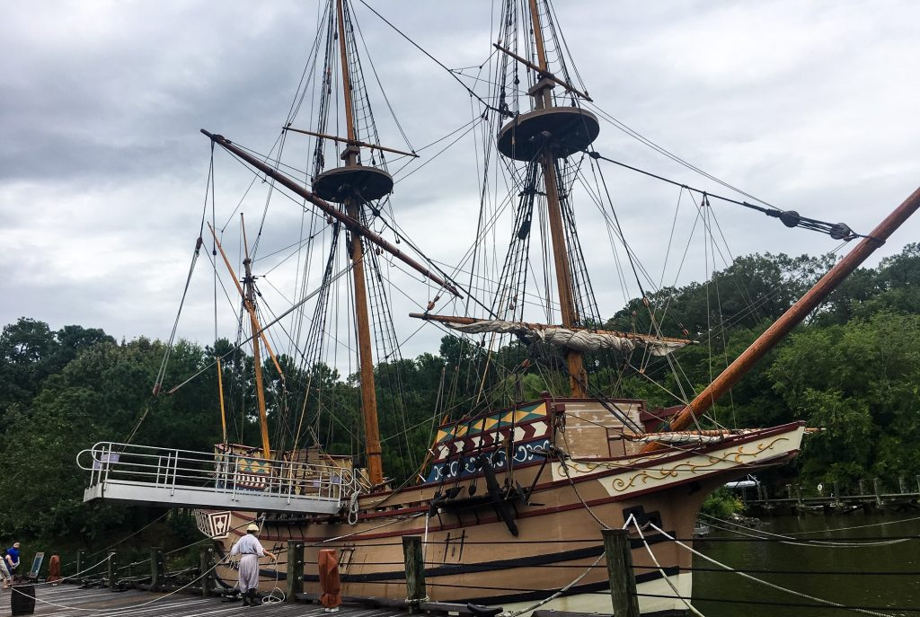 Ship at Jamestown