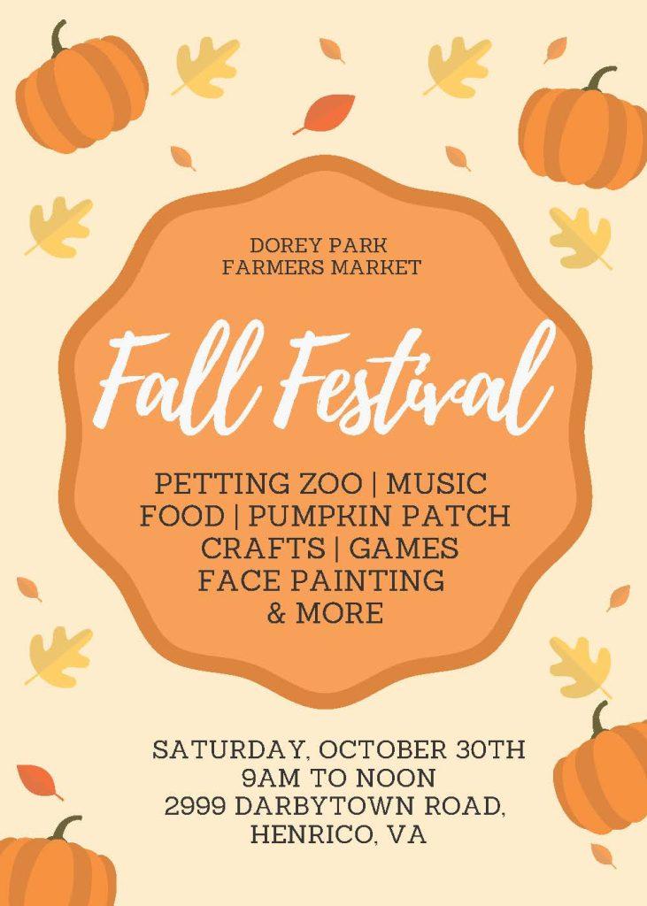Dorey Park Fall Festival