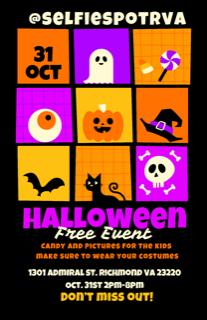 Selfie Spot Halloween events