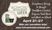 Spring Richmond Restaurant Week: April 21-27, 2014